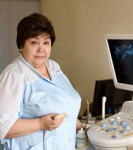 Алексеева Нина Прокопьевна врач ультразвуковой диагностики высшая категория